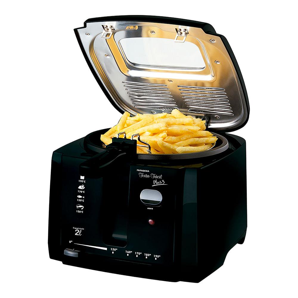 Fritadeira Elétrica com Óleo Frita Fácil Plus 2L