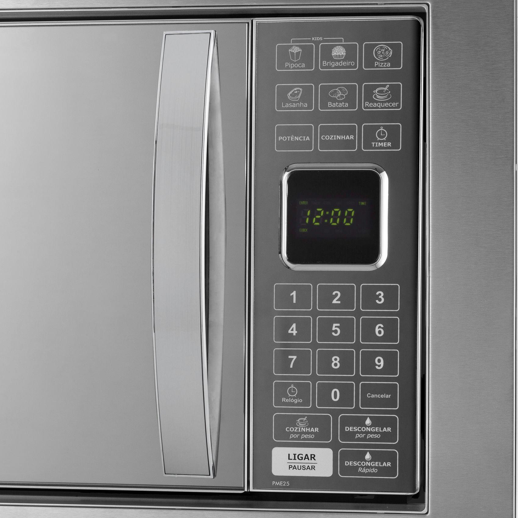 d661d645a Micro-ondas Philco PME25BM 25 Litros