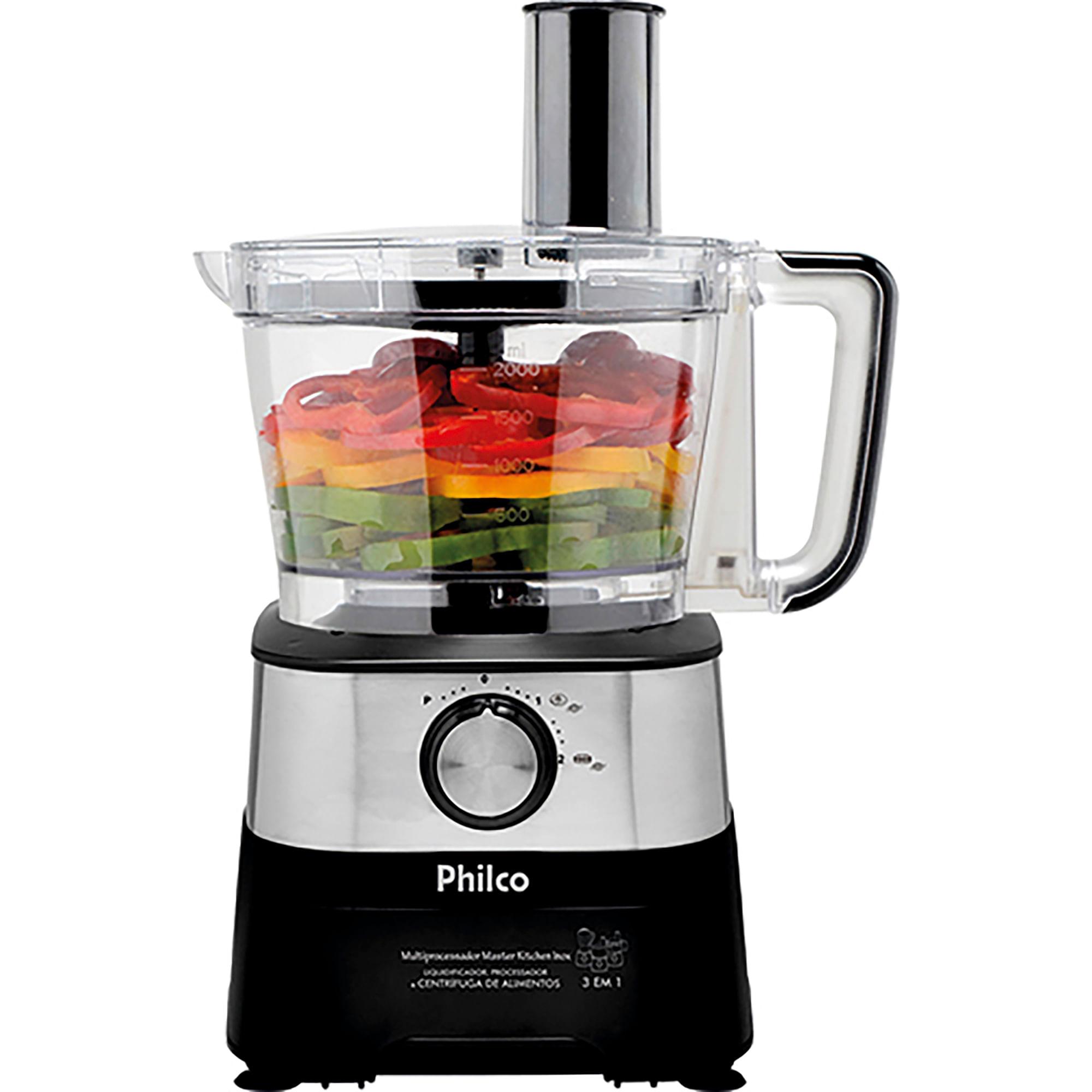557cef061 Multiprocessador Philco Master Kitchen 600W