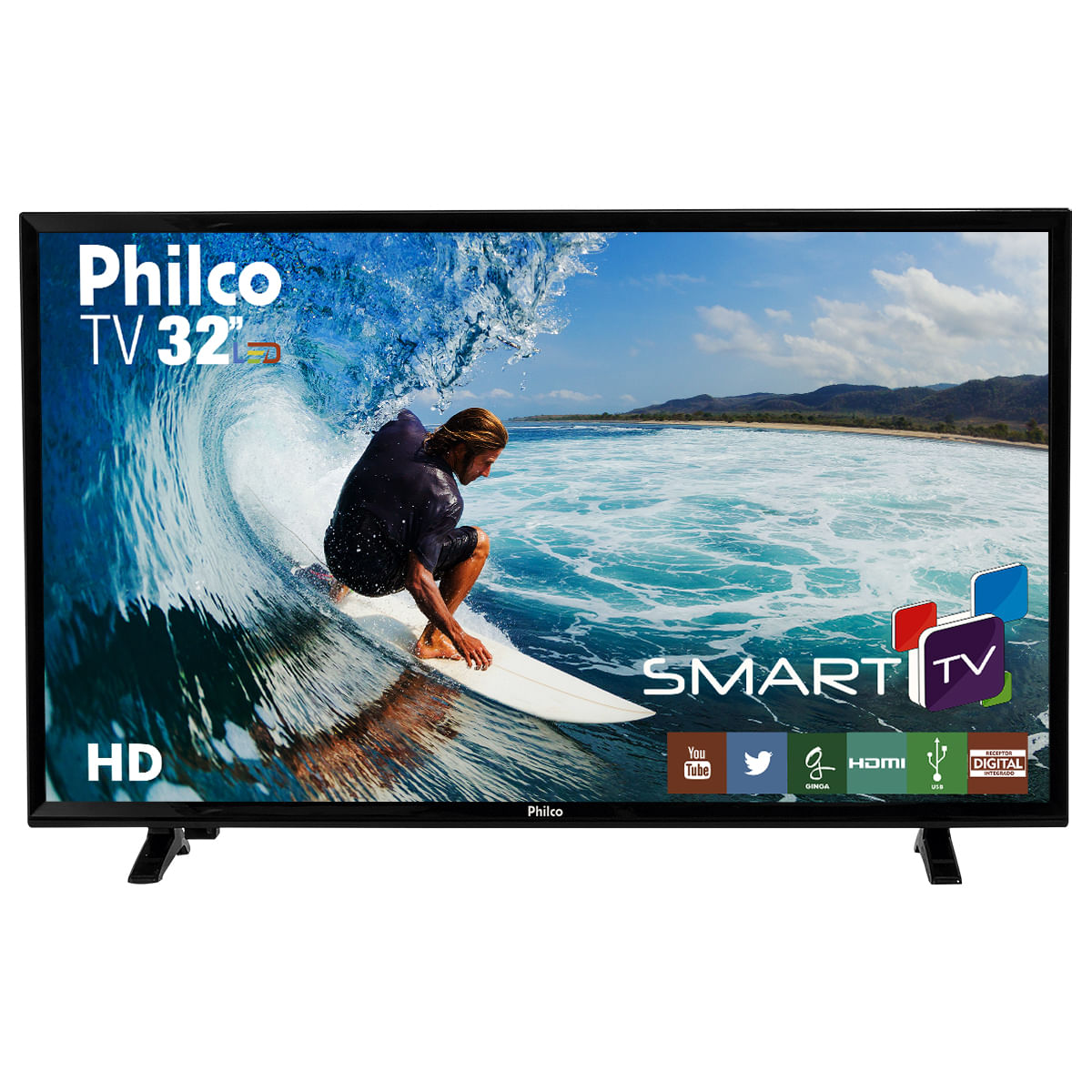 "5737001f931 TV Philco Led 32""PH32E31DSGW Smart - Bivolt"