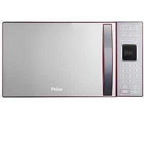 Micro-ondas-PME25-Vermelho-Funcao-Descongelar-Philco-_1