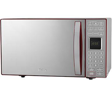 862fe2c28 Micro-ondas Philco PME25 Vermelho 25 Litros