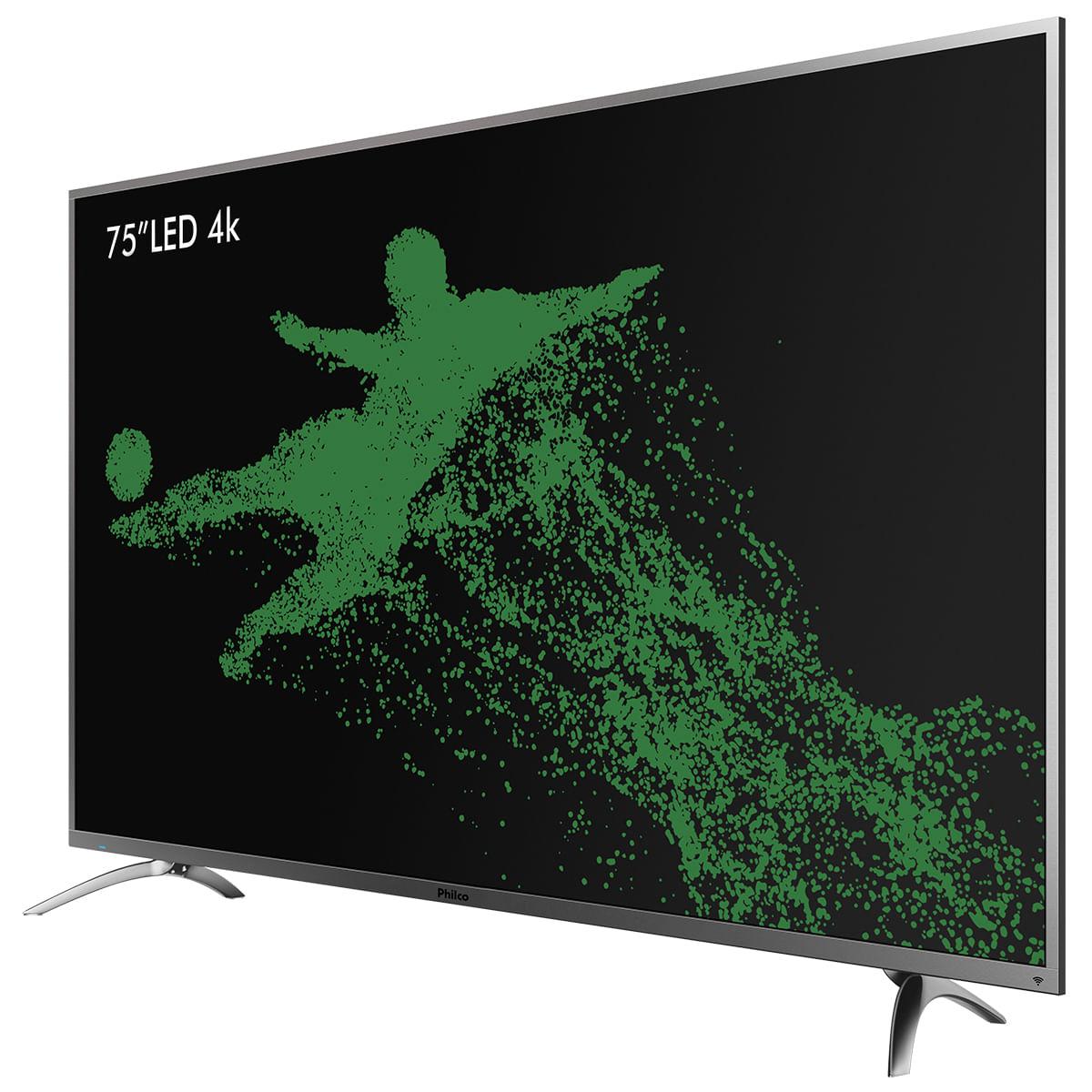 6c2c20ca850 TV 4K Led Philco PTV75E30DSWNT Netflix - Bivolt