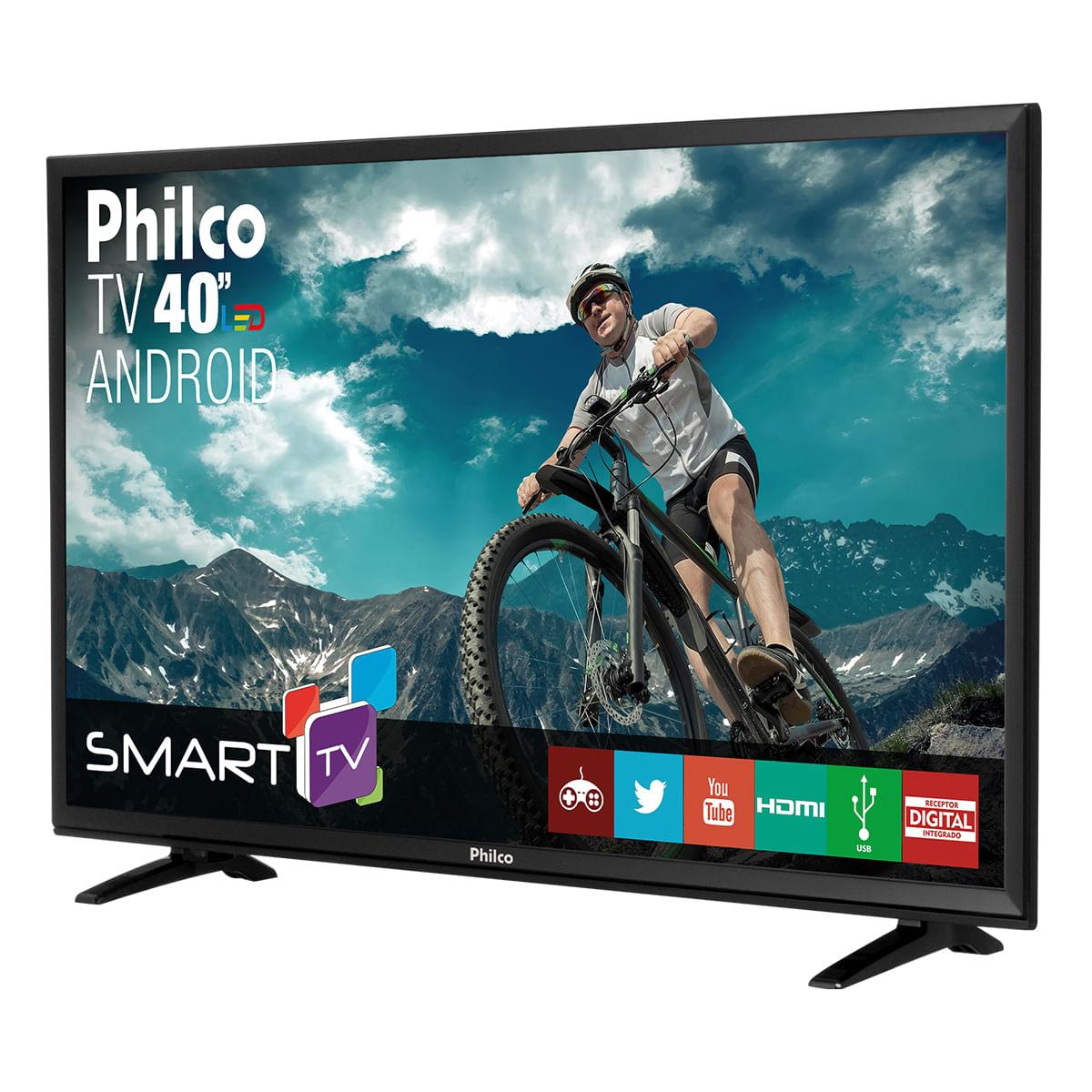 """6322151d2 TV Philco Led 42"""" Android PH42B51DSGWA - Bivolt"""