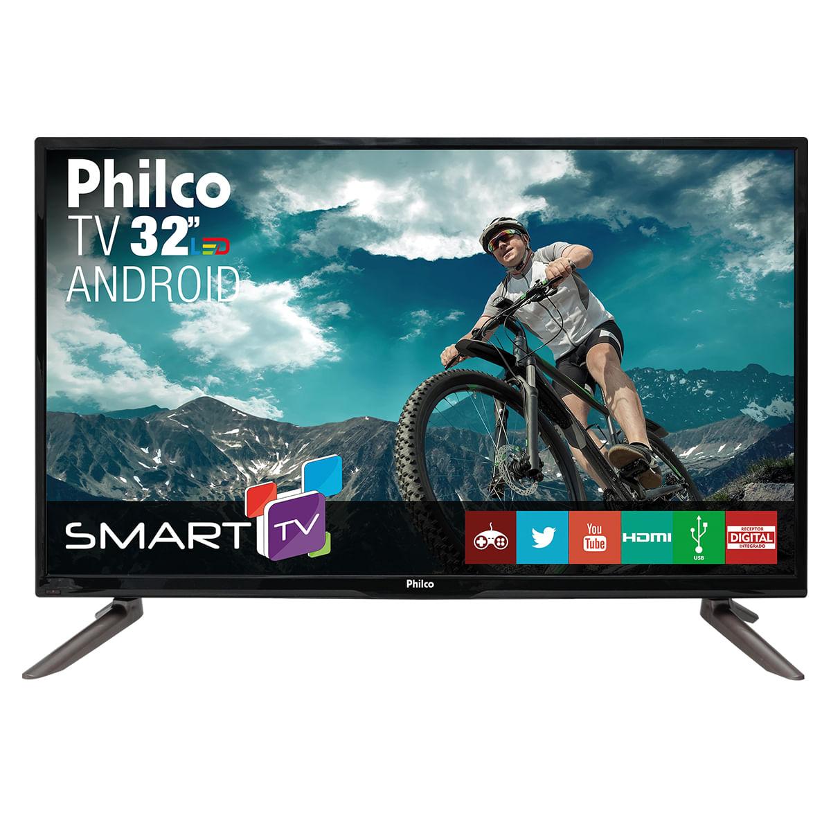 """5992ede7c2f TV Philco Led 32"""" PH32C10DSGWA Android - Bivolt"""