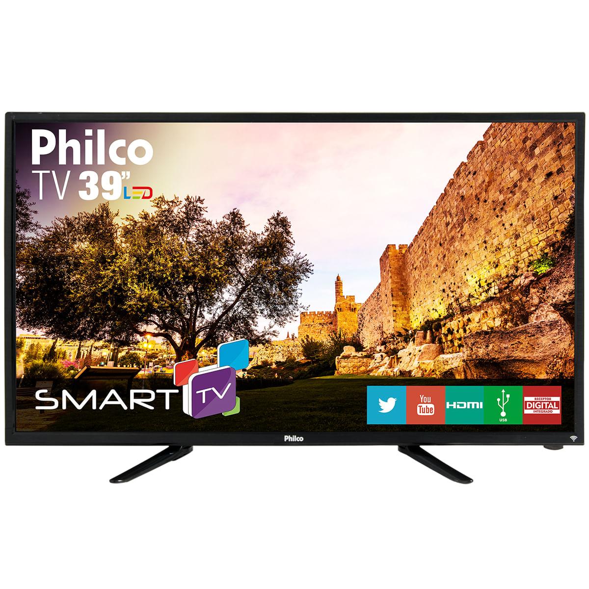 """74c83660964ac TV Philco Smart Led 39"""" PH39N91DSGW - Bivolt"""