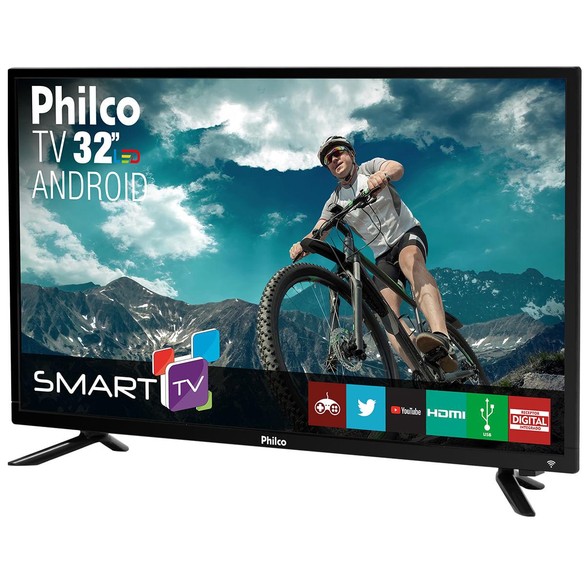 912b6b591db48 TV Philco Smart Android Led 32