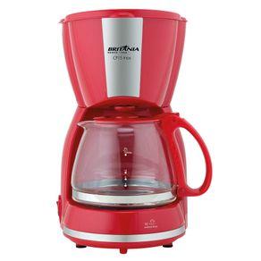 Cafeteira Elétrica Britania Inox Vermelho 110v - Cp15