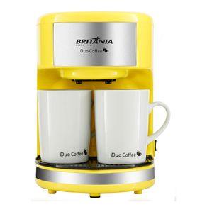Cafeteira Elétrica Britania Duo Coffee Amarelo 110v