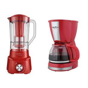 Cafeteira-CP30-Inox---Espremedor-Frutas---Liquidificador-Diamante-800-Conjunto-Vermelho-Britania_1