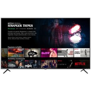"Tv 65"" Led Philco 4k - Ultra Hd Smart - Ptv65f80sns"