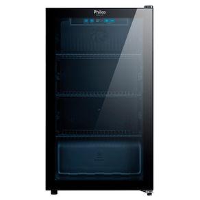 Geladeira/refrigerador 96 Litros 1 Portas Preto - Philco - 110v - Pcv127p