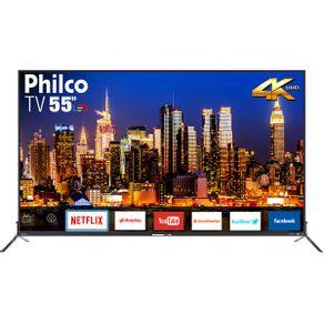 "Tv 55"" Led Philco 4k - Ultra Hd Smart - Ptv55q50sns"