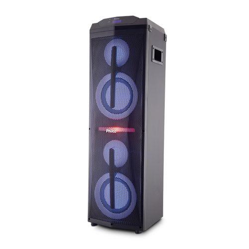 Caixa Acústica Philco Flash Lights EXBass PCX17000 Bivolt