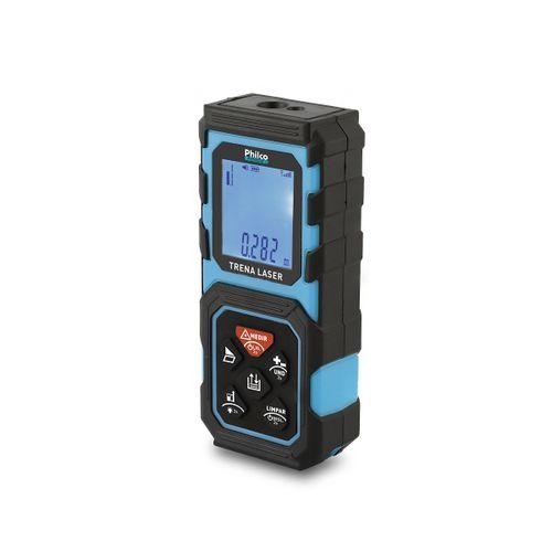 Trena a Laser Philco PTL01 40m com 3 unidades de medida Pilhas
