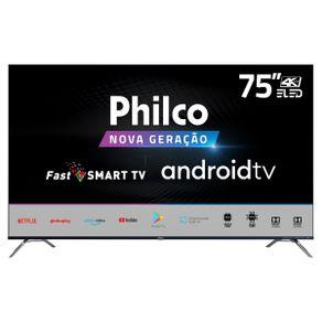 "Tv 75"" Led Philco 4k - Ultra Hd - Ptv75k90agib"