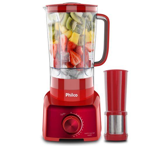 Liquidificador Philco PLQ912V Inox Red 1200W 127V