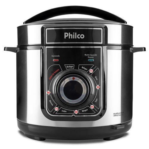 Panela de Pressão Multifuncional Philco PPP02 Inox 127V