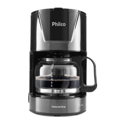 Cafeteira Philco PCF18T Titanium Inox  18 cafés 127V