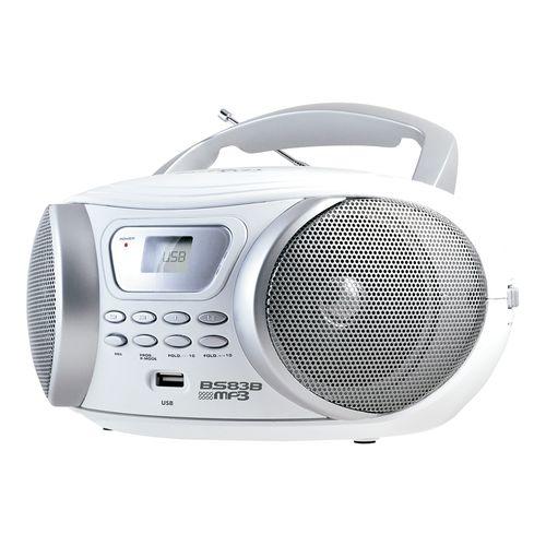 Boombox Britânia BS83B USB MP3  - Outlet Bivolt