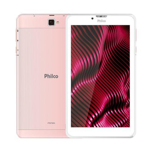 """Tablet Multi-toque 7"""" Philco PTB7SRG Quad Core Android PIE 9.0 16Gb Bivolt"""