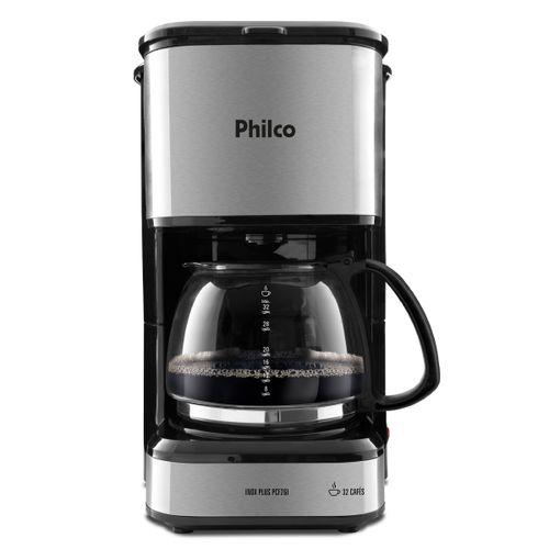 Cafeteira Inox Plus Philco PCF26I Base com Aquecimento 1,2 Litro 127V
