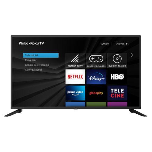 "Fast Smart TV Philco Roku 42"" PTV42G52RCF LED FullHD Preta Bivolt"