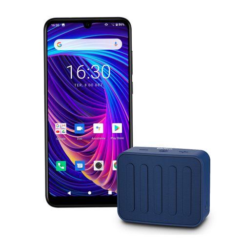 Kit Philco Smartphone PCS02P Hit Plus + Speaker Go PBS10BTA Bivolt