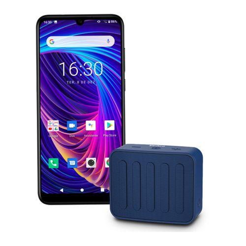 Kit Philco Smartphone PCS02SG Hit Max + Speaker BS10BTA Bivolt