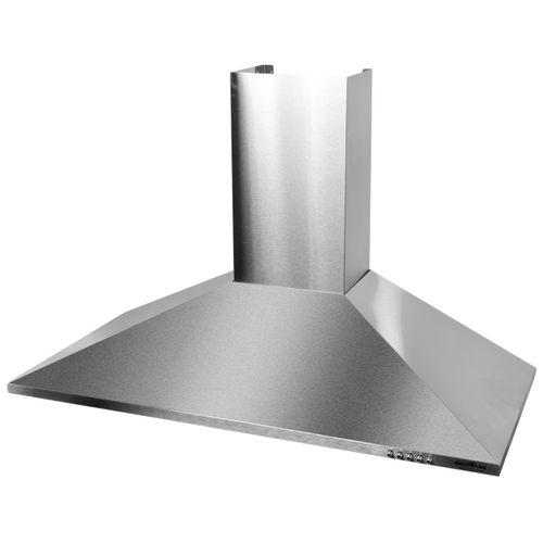 Coifa de Parede Britânia BCO955I Plana Pirâmide 90cm Touch 2 em 1 Dupla Função, Depurador e Exaustor, 3 Velocidades 127V