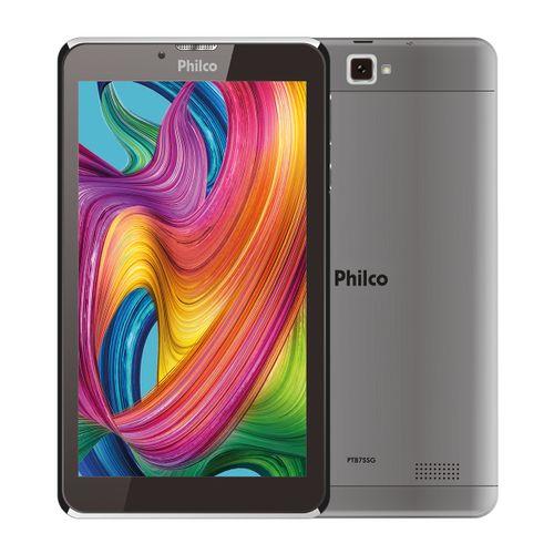 Tablet Philco PTB7SSG Android Pie 9 Go Quad Core 16Gb Bivolt